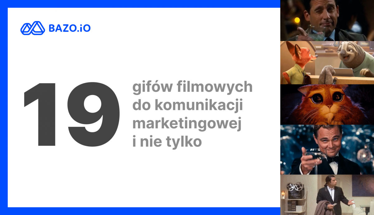 19 gifów filmowych do komunikacji marketingowej i nie tylko