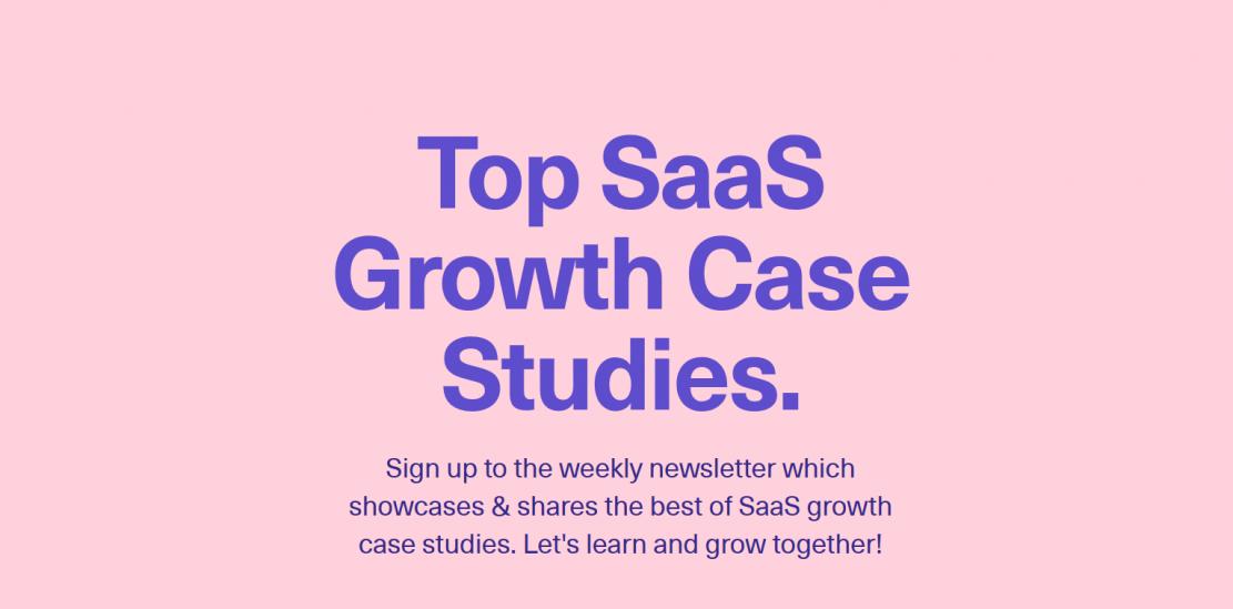 Case study 40+ najlepszych SaaS
