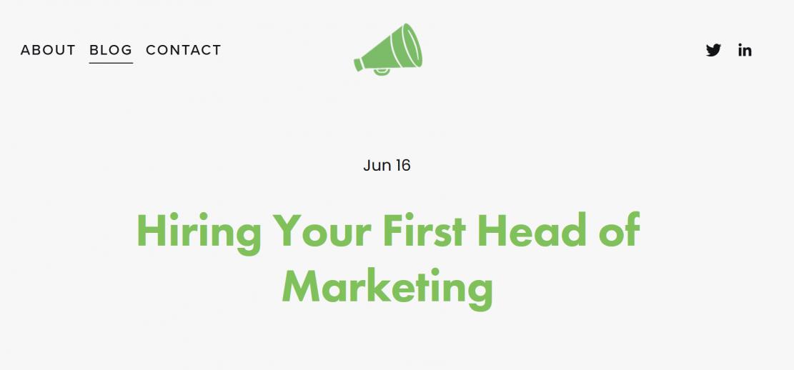 Zatrudnia(nie!) pierwszego Head of Marketing