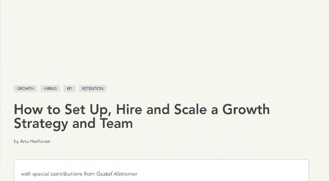 Jak stworzyć, zatrudnić i skalować? - strategia rozwoju i zespół